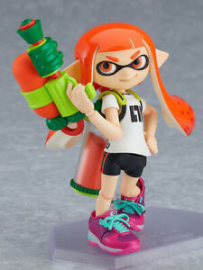 figma Splatoon Girl Good Smile Company Japan NEW