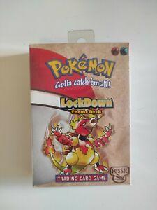 1999 Pokemon LockDown Fossil Theme Deck WOTC Factory Sealed