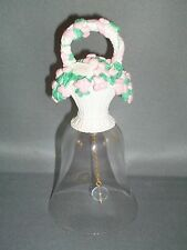 Vintage 1994 Avon Basket of Love Crystal Bell