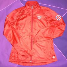 RARE Adidas London 2012 Olympic Coca Cola Staff Jacket Ladies UK 10 Excellent