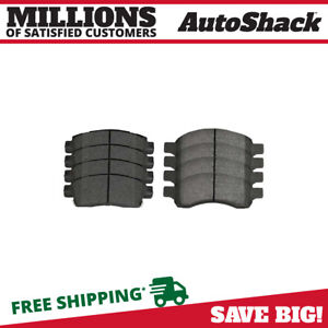 SMD1275H Rear Semi-Metallic Brake Pads+Hardware