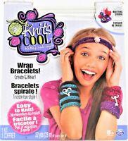 New Knits Cool Bracelet Maker Craft Kit Make 4 Wrap Bracelets Spin Master 8+