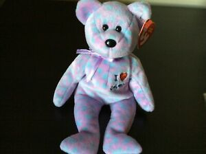 "Ty Beanie Baby ""I Love Columbus"" the Bear MWMT 2004"