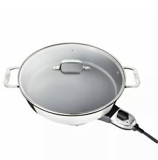All-Clad - SK492D5 Electric 7 QT. Skillet - Stainless Steel- New In Box