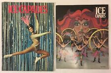 Ice Capades Program Booklets Metromedia 29th Edition 1968 and 34th Edition 1973