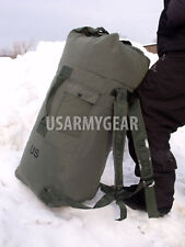 US Army Military Deployment DUFFLE Duffel Flight Carry-on Sea Bag Back Pack USGI