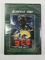 Godzilla 1984 The Return of Godzilla DVD Kraken NEW SEALED!