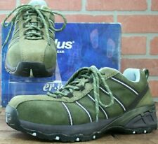 Nautilus Safety Footwear Women's N1758 Composite Toe Work Shoe Olive Size 8.5W