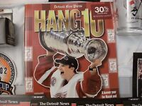 Detroit Red Wings 2002 Stanley Cup Champions Hockey Memorabilia