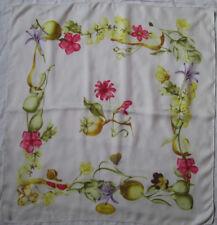 -Superbe foulard GUCCI soie TBEG vintage 60's scarf  65 x 69 cm