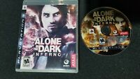 Alone in the Dark Inferno Sony PlayStation 3 2008 - Tested - No Manual