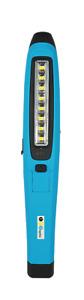 LED Akku Handlampe Werkstatt, KFZ-Arbeitslampe mit Magnethalterung 400lm SMD