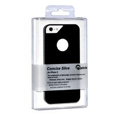 Pinlo Concize Slice Back Cover Schwarz + Displayschutzfolie für iPhone 5 - 5S