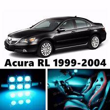 19pcs LED ICE Blue Light Interior Package Kit for Acura RL 1999-2004