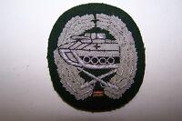 1 Aufnäher Panzergrenadier Truppe handgestickt Barett Abzeichen Bundeswehr