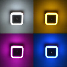 0.5W Mini LED Night Light Auto Sensor Lights Built-in Wall Decoration For Home