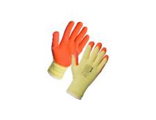 Handler Glove Medium Work Orange Dipped Safety Gloves Builder Gloves (1 Pair)
