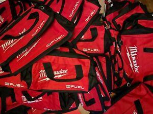 """Twenty (20) Milwaukee M12 FUEL Contractor Bags 12"""" wide"""
