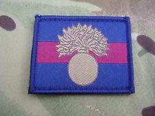 GRENADIER GUARDS Army Cap/Beret Badge On Regimental ID TRF Combat Jacket Patch