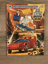 Gobots 1985 Coloring Book Unused!