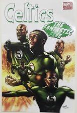 "*RARE* NBA Celtics Poster Marvel Variant Edition ""THE FANTASTIC FIVE"""
