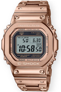 Casio G-Shock Full Metal Rose Gold GMWB5000GD-4 Multi-Band 6 Atomic Solar 2021