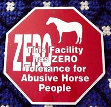 New Zero Tolerance Sign from Noble Beast Graphic