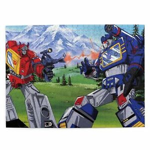 Transformers G1 300/500/1000 Pieces Wood Jigsaw Puzzle Game for Adults Kids Gift