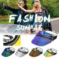 Sun Hat Head Band Style Sunglasses Hat Anti-Glare Anti-UV Plating Sunglasses Cap