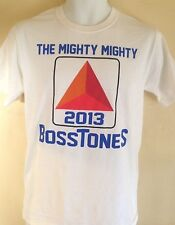 MIGHTY MIGHTY BOSSTONES SMALL T- SHIRT 2013 SKA CORE ROCK  OUT OF PRINT