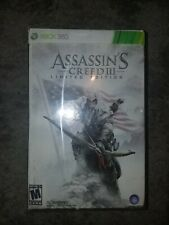 Assassin's Creed III 3: Limited Edition (Xbox 360 2012) FACTORY SEALED! - RARE!