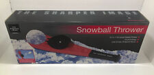 Sharper Image Snowball Thrower Snow Cabin Games Scoop Shape Throw New