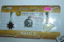 ONE PIECE GIRLS COLLECTION NAMI METAL PORTACHIAVI NUOVO VER JAPAN TN1 52102