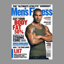 SHEMAR MOORE Men's Fitness Magazine Criminal Minds Kristin Kreuk Smallville
