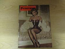 April 1952, PICTUREGOER, Vera-Ellen, Michael Rennie, Claire Bloom, Ann Blyth.