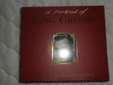 """""""A PORTRAIT OF BING CROSBY"""" 2 CD's CONTAINING 48 TRACKS. TOP CONDITION."""