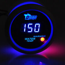 "2"" 52mm Digital LED Electronic Water Temp Temperature Gauge White US Shipping"