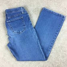 NYDJ Size 4 Not Your Daughters Jeans Tummy Tuck Blue Stretch 400D