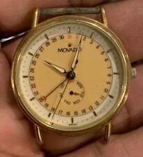 Movado Vintage Rare Mens Movado Calendar Day watch model 87-06-885