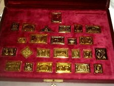 Sterling Silver & gold Plated Bars Canadian Collection Discovery of A Country