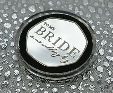 'To My Bride' Silver Commemorative in Capsule. Wedding Day Gift/Present/Favour