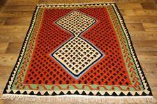 Handgewebter Kelim 140x170 cm Orientteppich Nomadenteppich Nomadenkelim Sene NEU