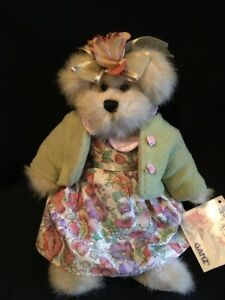 """GANZ The Bears of Sommerset Lane Jointed Girl Teddy Bear 10"""" Heritage collection"""