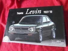 Fujimi Toyota Levin Corolla TE27  '72 1:24