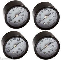 [DEWA] [A17135] (4) DeWalt Air Compressor Replacement Pressure Gauge