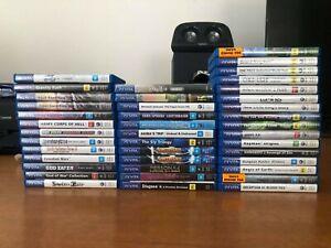LOT *RARE* PlayStation PS Vita Games AUS PAL / Limited Run Games