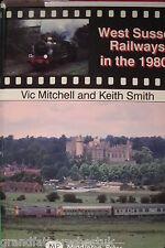 VIC MITCHELL KEITH SMITH RAILWAY BOOK TRAIN LINE WEST SUSSEX RAILWAYS 1980S