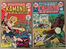 Kamandi #4 & 5 DC Comic Book NM Condition 1973 JACK KIRBY WHITE PAGES
