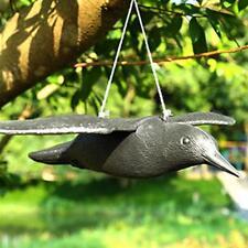 Fake Flying Falcon Hawk Bird Hunting Decoy Deterrent Scarer Garden Pest Control