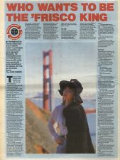 10/3/90Pgn46 Article & Picture(s) The Primitives who Wants To Be The Frisco King